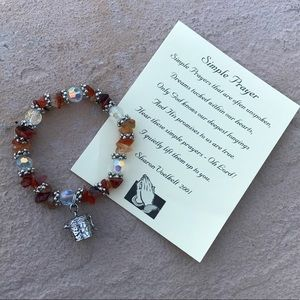 Jewelry - Alexa's Angels Simple Prayer Bracelet